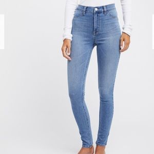 FREE PEOPLE paradise beach skinny jean